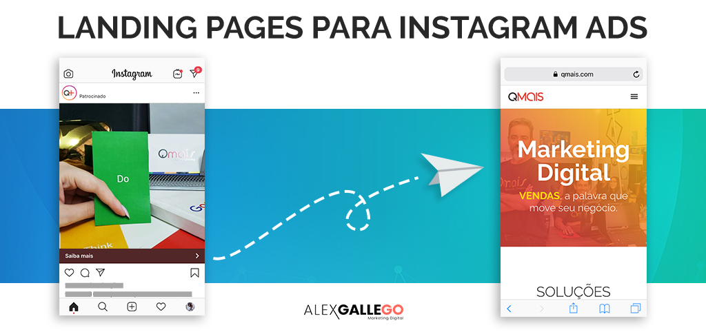 Landing Pages para Instagram Ads